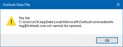 Solve OST File Won't Open in Outlook 2016 Problem